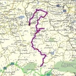 MapSource Trip Tracks - 3 August 2011