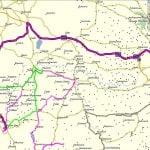MapSource Trip Tracks - 5 August 2011