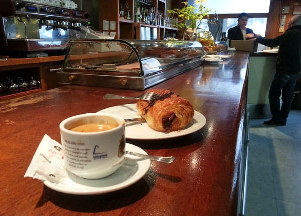 start exploring segovia with a delicious breakfast at a cafe on plaza mayor