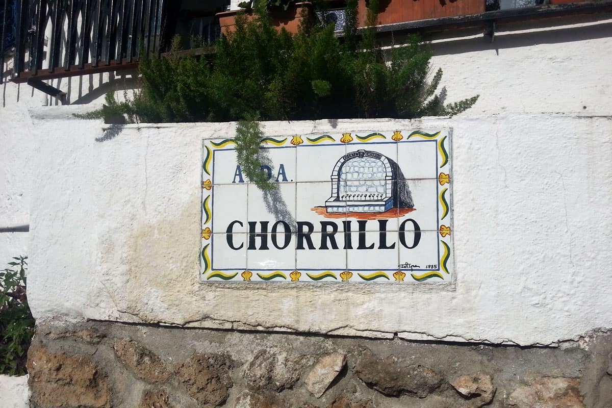 Street sign in Benalmadena Pueblo