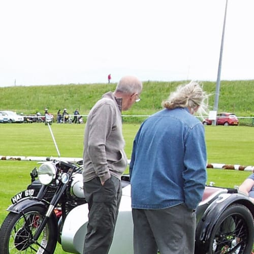 Classic motorcycle shows