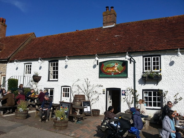 The Tiger Inn for great food and locally brewed craft beer